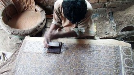 AHAN -Blockprinting Man
